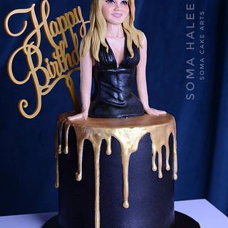 Birthday cake - Cake by SomaHaleem