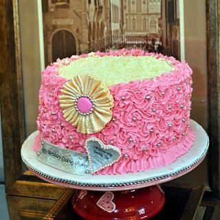 Girly Girly Cake - Cake by Reem