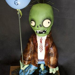 Zombie antigravity cake - Cake by Lenkydorty