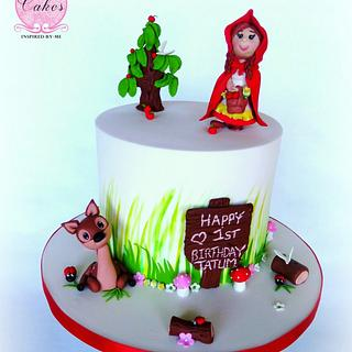 Little Red Ridinghood - Cake by Cakes Inspired by me