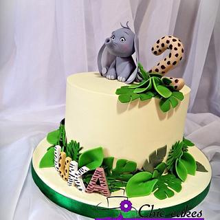 Little elephant cake