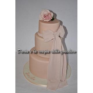 Pink powder cake - Cake by Daria Albanese