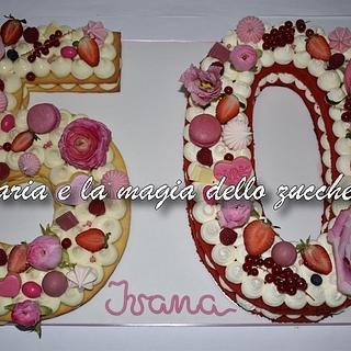 Cream tarte 50th