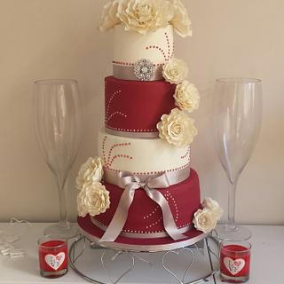 Wedding cake xx