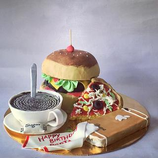 cake for a foodie