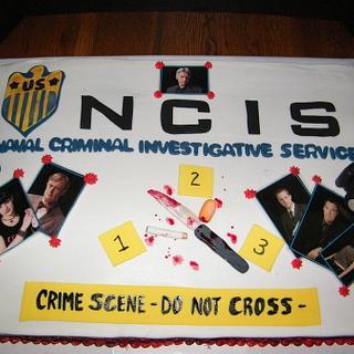 NCIS Birthday Cake
