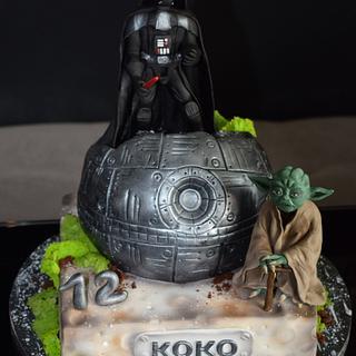 Star Wars cake - Cake by aniilievacakes