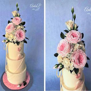 Wedding cake - Cake by AnkaP