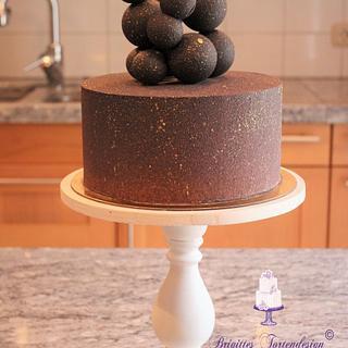 Molecules cake