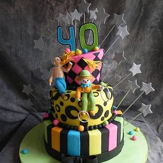 Circus Cake - Cake by Monica Garzon Hoheb