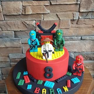 Ninja Lego - Cake by Mora Cakes&More