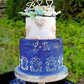 Blueprint cake:) - Cake by SojkineTorty