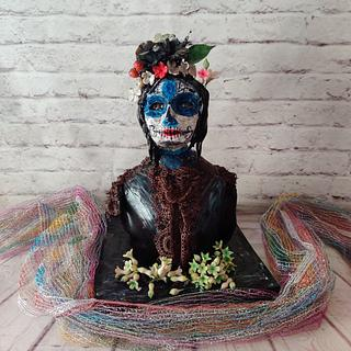 Catrina Parade: Collab work - Cake by Dr RB.Sudha