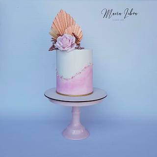 15 th birthday - Cake by Maira Liboa
