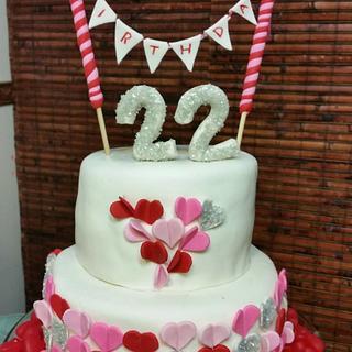 hearts 22nd birthday
