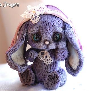 "Sugar sculpture ""The Bunny"""