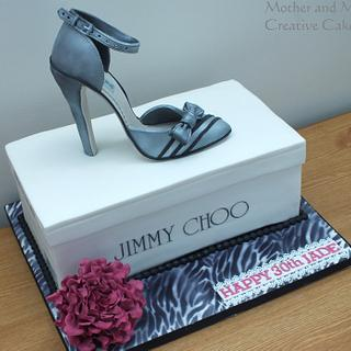 Shoe Cake - Cake by Mother and Me Creative Cakes