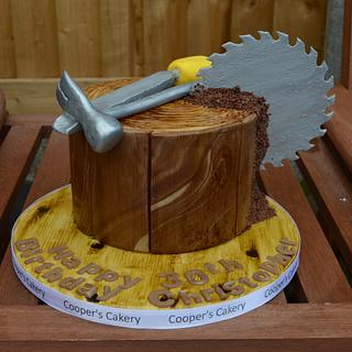 Joinery Cake - Cake by Rebecca Cooper