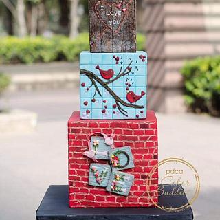 Caker Buddies Valentine collab - Foundation of Love