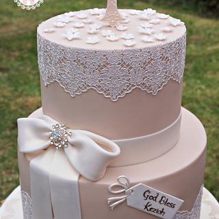 Communion Cake for Kez