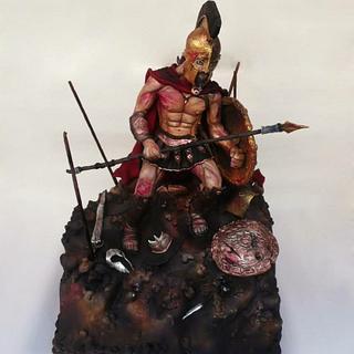 King Leonidas Cake