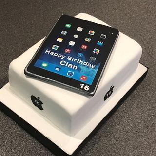Cian's IPad Cake - Cake by Margaret Lloyd