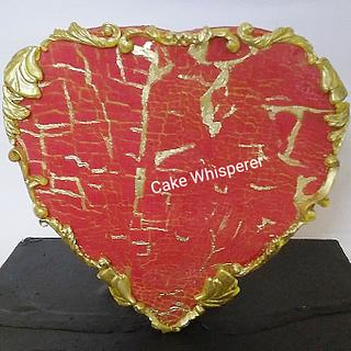 Rotating 3D Heart Cake