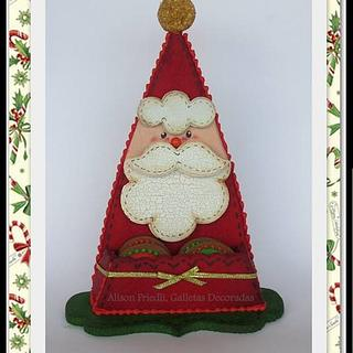 Santa Cookie Box