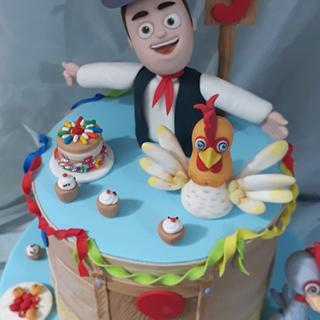 Cumpleaños en la granja de Zenón.