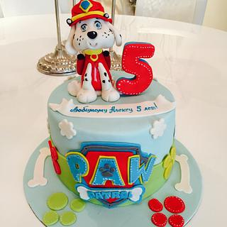 Paw patrol themed cake - Cake by Malika