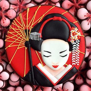 Geisha - Cake by Rocío Cuenca