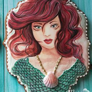 Mermaid portrait