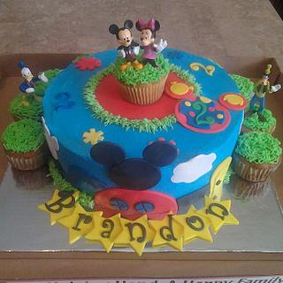 Mickey Mouse Club House Cake2