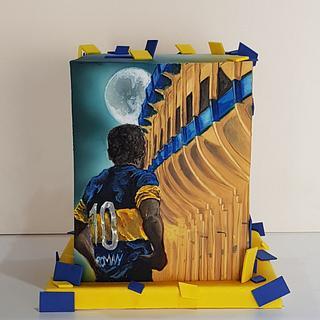 Torta Boca jrs. ROMAN RIQUELME - Cake by Marisa Morelli Monfort