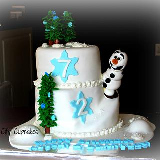 Olaf - Cake by Sharon