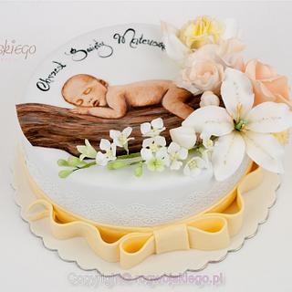 Baptism Christening cake / Tort na Chrzest