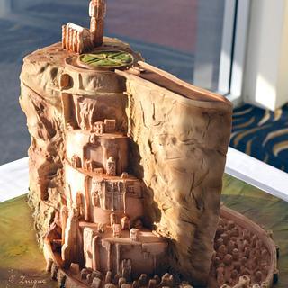 Minas Tirith Groom's cake