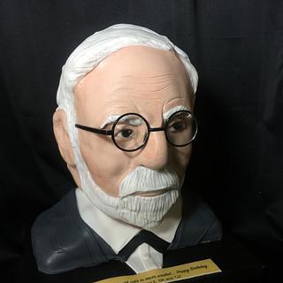 Sigmund Freud cake Design