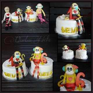 Cakes with Monkeys