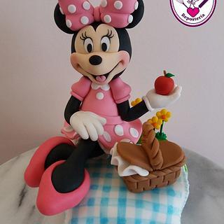 Minnie día de campo - Cake by Alejandra Aguirre (Mamá Ganso)