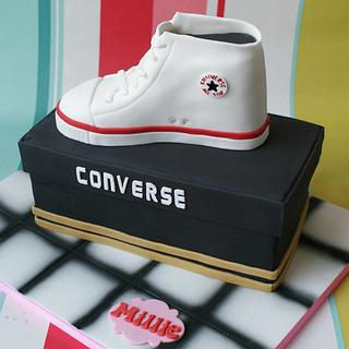 Converse high top - Cake by Daisy & Fred