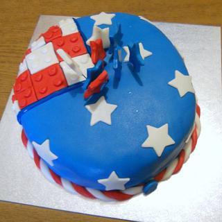 USA cake!