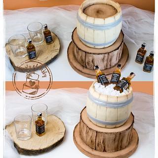 Alcohol cake :)