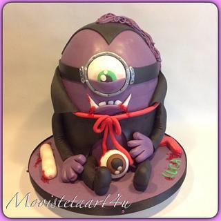 Evil Minion... - Cake by Mooistetaart4u - Amanda Schreuder