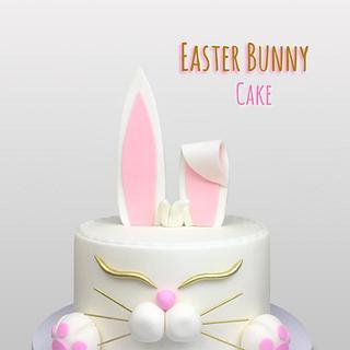Torta Conejo - Rabbit Cake - bunny cake