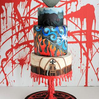Supernatural Cake Collaboration Season 8 - Cake by Sweets and Treats by Christina