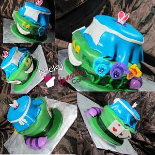 Alice in Wonderland Cake - Cake by NickySignatureCakes