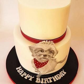 50th Birthday Cake  - Cake by Cakes Glorious Cakes