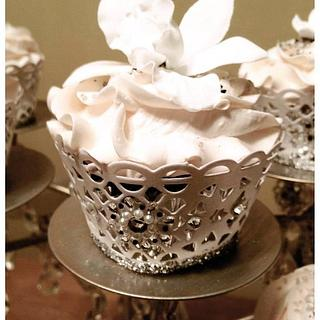 New Years bling cupcakes - Cake by Random Acts of Sweetness