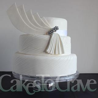 Inspired by Suzanne Neville Coronet Wedding Dress